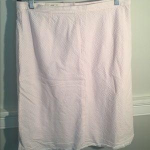 Brooks brothers seersucker skirt